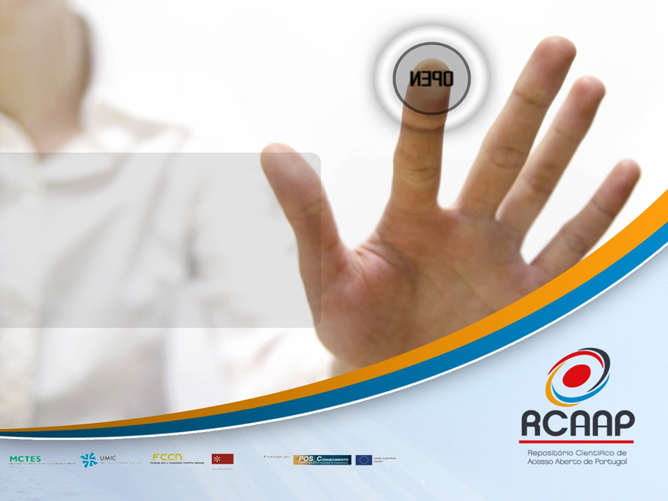 A adesão do projecto RCAAP ao evento Open Access Week 2010 surge no âmbito das actividades de promoção e comunicação do Repositório Científico de Acesso Aberto Português. Pretende-se congregar sinergias […]
