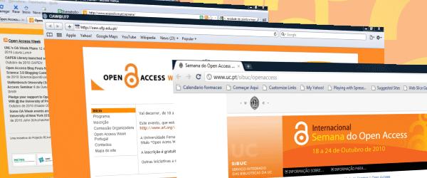 São já mais de uma dezena as instituições que se associam à Semana Internacional do Acesso Livre com a dinamização de inúmeras iniciativas de promoção do Open Access em Portugal. […]