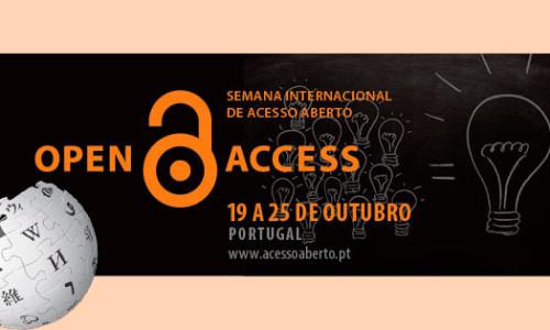 Em comemoração daSemana Internacional de Acesso Aberto, que irá decorrer de 19 a 25 de outubro de 2015, aUMinho junta-se à iniciativa global'Edit-a-thon' para criar, melhorar e traduzir os conteúdos […]