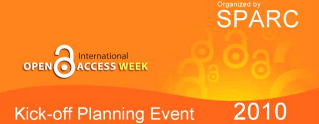 No passado dia 2 de Junho, o SPARC promoveu, via Web cast, uma sessão para inicio de planeamento das actividades da Open Access Week 2010. A sessão ficou registada em […]
