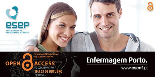 De 19 a 25 de outubro a Escola Superior de Enfermagem do Porto irá realizar as seguintes atividades: Divulgação na página e facebook da ESEP da notícia no seguinte linkhttp://www.esenf.pt/pt/noticias/semana-internacional-do-acesso-aberto/ […]