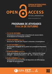 O ISPA-Instituto Universitário, entre os dias 19 e 25 de Outubro de 2015, associa-se às instituições que a nível mundial promovemaSemana Internacional do Acesso Aberto, através de um conjunto de […]