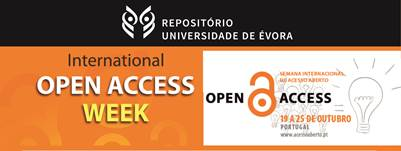 A Universidade de Évora à semelhança dos anos anteriores, junta-se à Semana Internacional do Acesso Aberto, divulgando pelos meios de comunicação da UÉvora durante a semana, testemunhos de investigadores desta […]